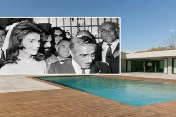 Αριστοτέλης Ωνάσης: Πωλείται η βίλα του στο Λαγονήσι! - Ειδήσεις